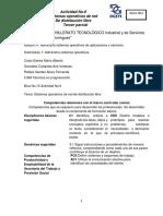 Actividad 6 Sistemas Operativos en Red de Distrubicion Libre
