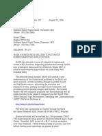 Official NASA Communication 96-173