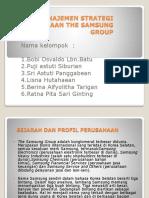 Power Point Manajemen Strategi Perusahaan the Samsung Group