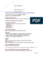 APEX Installation on Linux1