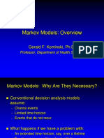 Markov Models - Intro