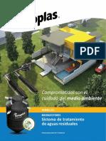 Manual Para Biodigestores. Sistema de Tratamiento de Aguas Residuales
