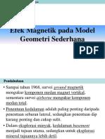 Materi 4 - Efek Magnetik Pada Bentuk Sederhana Dan Penafsiran