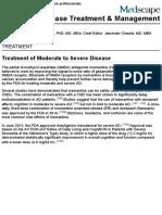 Alzheimer Disease Treatment & Management: