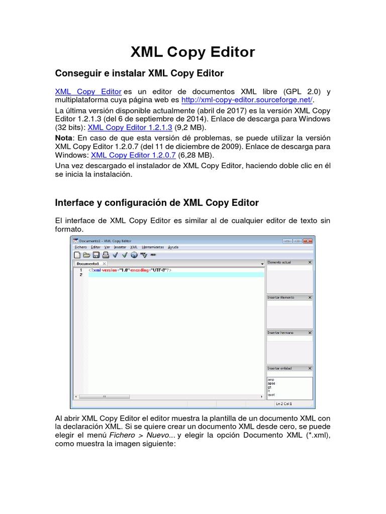 Encantador Editor De Plantillas Xml Bosquejo - Ejemplo De Colección ...