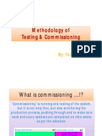 Testing & Commissioning Methodology