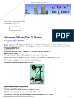 Determining Softening Point of Bitumen