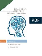 Desarrollo de La Historia de La Terapia Cognitiva