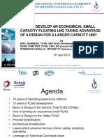 201304 Total-Presentation (LNG17) Small Capacity FLNG Design