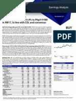 Earnings Analysis - PIZZA