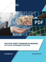 Political Party Finances in Georgia