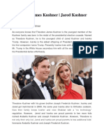 Theodore James Kushner | Jared Kushner Wedding