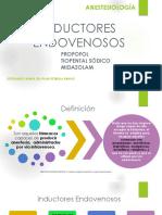 2.-INDUCTORES ENDOVENOSOS