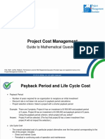 _StudyGuidesPDF_PMstudy_Project Cost Management_2-Mathematical Section - Cost Management