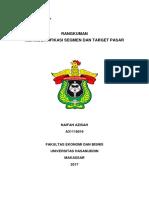 BAB 8 Mengidentifikasi segmen dan target pasar  (Manajemen Pemasaran)