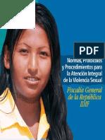 Normas, protocolos y procedimientos para la atencion integral de la violencia sexual Fiscalia general de la republica IDIF - DVD Mauge.pdf