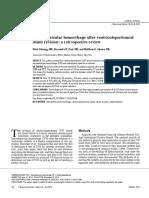 Intraventricular Hemorrhage After Ventriculoperitoneal
