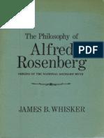 J. B. Whisker-The Philosophy of Alfred Rosenberg