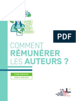Guide Remuneration Auteurs