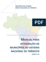 Manual Para Integracao Dos Municipios DENATRAN