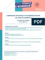 Campagne nationale pour le don de gamètes