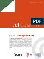 Empresas Guia Fiscalidad Empresarial