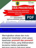 Rencana Kegiatan Prioritas Bok 2018
