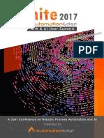 IGNITE 2017 - AutomationEdge RPA & AI User Summit