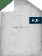 El Arte de Vivir, P. Alberto Maria Weiss O.P.
