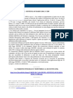 Fisco e Diritto - Corte Di Cassazione n 5289 2010