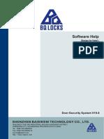 Door Security System  Software Help