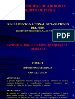 Diapositvas Seminario Reglamento Tasaciones