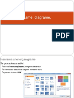 Organigrame, Diagrame, in PowerPoint