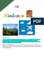 Explore Mindanao