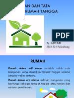 Perumahan Dan Tata Laksana Rumah Tangga.