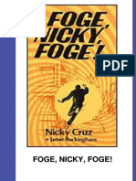 Nicky Cruz - Foge Nicky, Foge