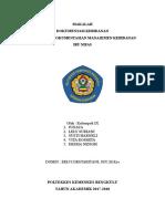 Format Pendokumentasian Manajemen Kebidanan Nifas