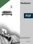 Technics SL-1200 - Owners manual.pdf