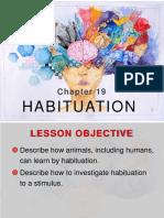 Chapter 19- Habituation