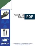 Radiation Frisker Operation Manual English