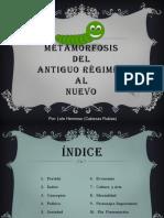 Diferencias Del Antiguo y Nuevo Régimen