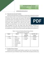 SAP 2 Jenis-jenis Penelitian