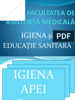 Igiena Apei Curs 2