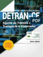 2017 - Detran Ce - n Vel m Dio Agente de Tr Nsito e Transporte e Vistoriador 1/concurso