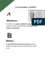 Diccionario de Economía y Política