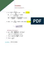 Exemple de Calcule RAPPORT