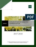 GUÍA Narrativa española  actual.pdf