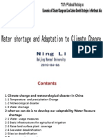 Water Shortage and Adaptation to Climate Change