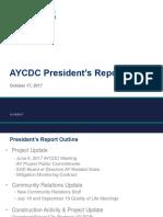 Atlantic Yards  CDC President's Report 10/17/2017