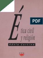 Adela Cortina - Etica Civil y Religion